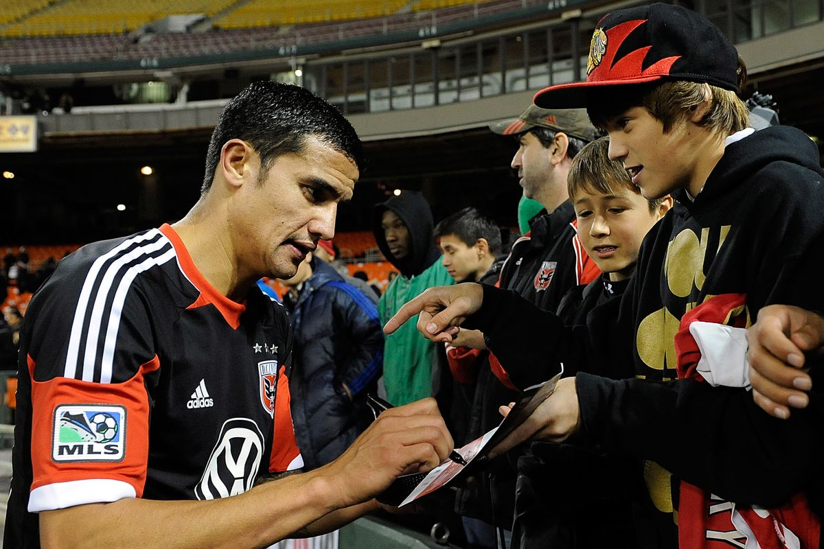 New players, new jerseys.  Just not this player in this jersey for D.C. United.