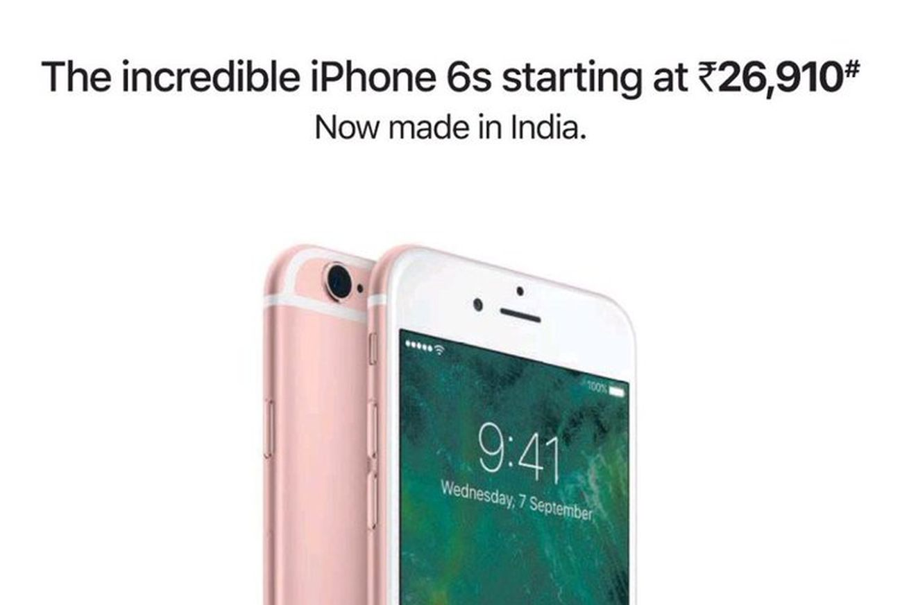 Apple keeps iPhone 6S going with 'made in India' campaign