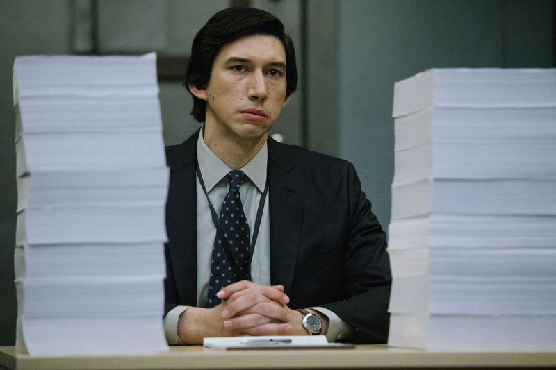 Adam Driver as Daniel J. Jones in The Report.