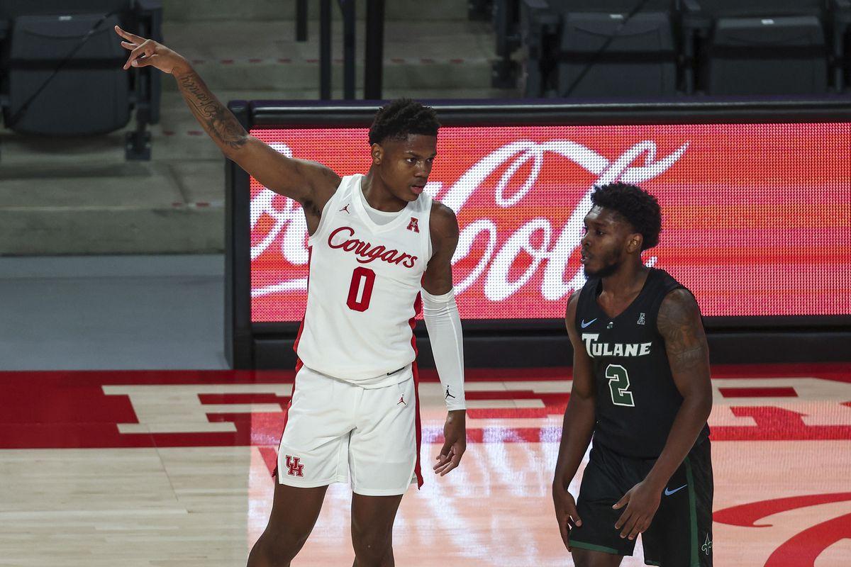 NCAA Basketball: Tulane at Houston