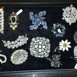 """""""You never know what you'll find at this packed-to-the-brim shop [5234 North Clark Street], Brownstone Antiques. It's like going on a treasure hunt in grandma's attic with vintage chandeliers, old writing desks, and cool accent chairs. There's also a grea"""