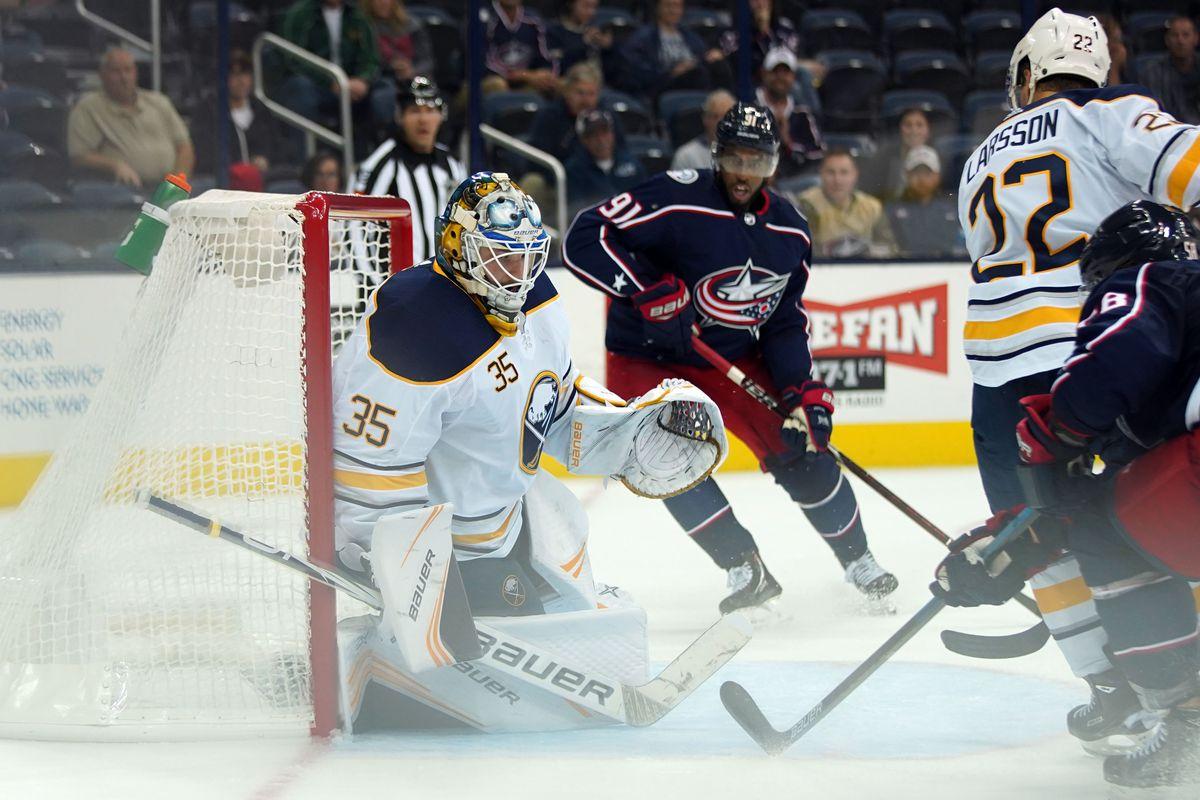 NHL: Preseason-Buffalo Sabres at Columbus Blue Jackets