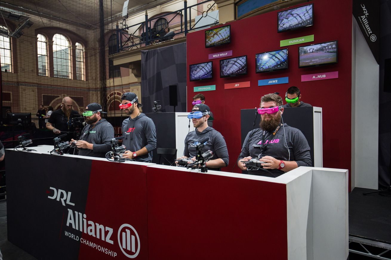 Drone Racing League In London