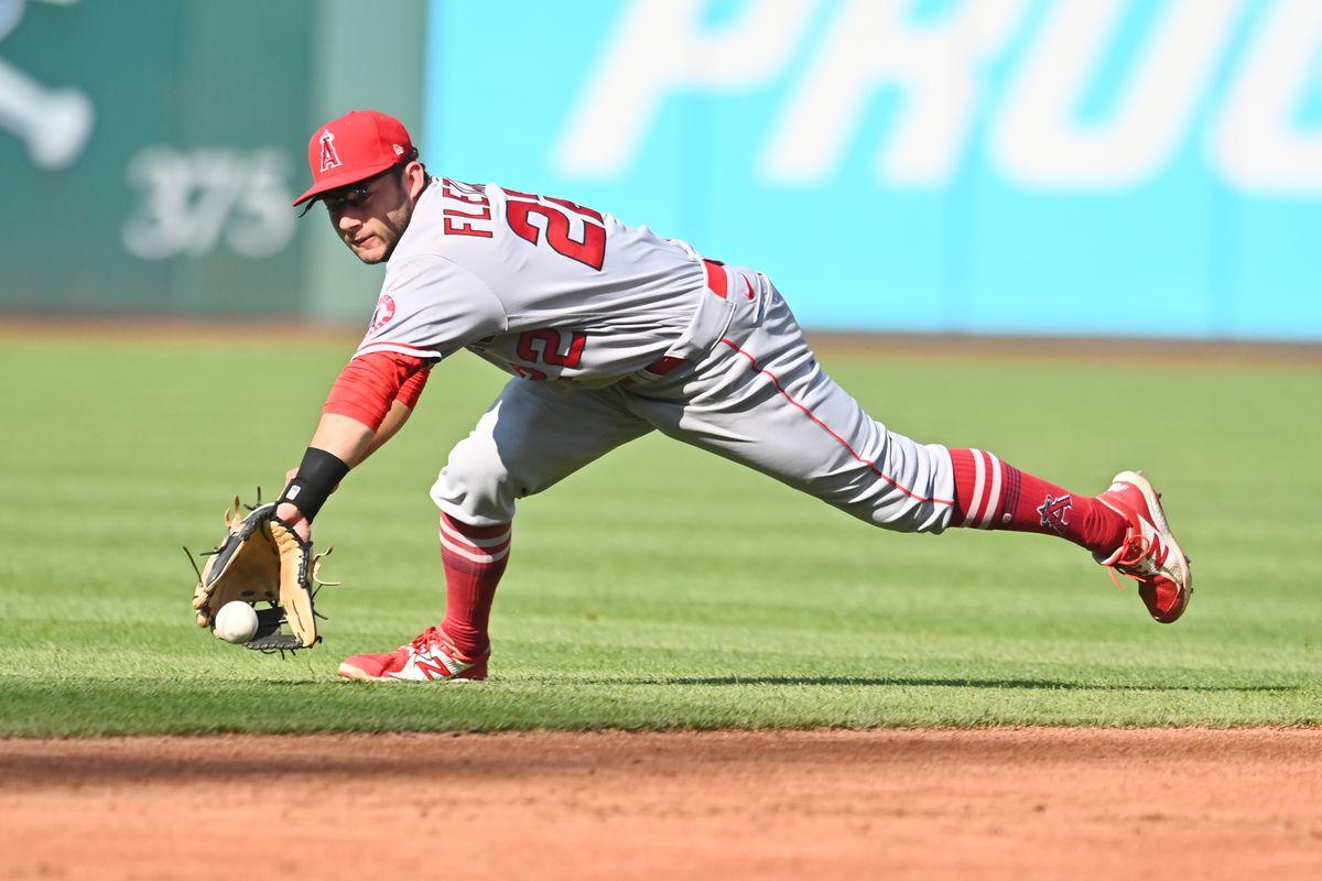 MLB: Los Angeles Angels at Cleveland Indians