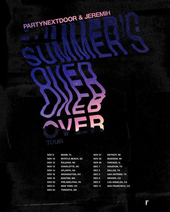 PND tour dates