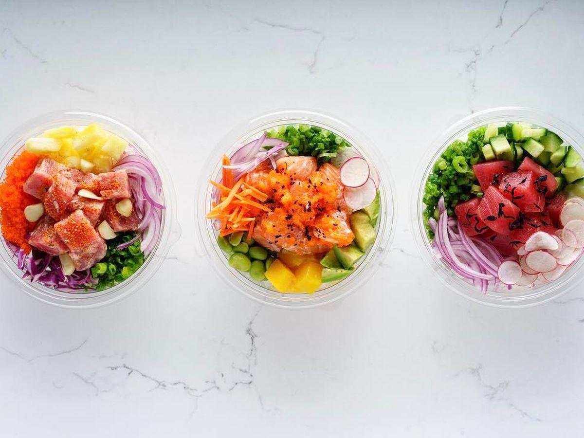 Bright, healthy bowls at FreshFin Poke Co