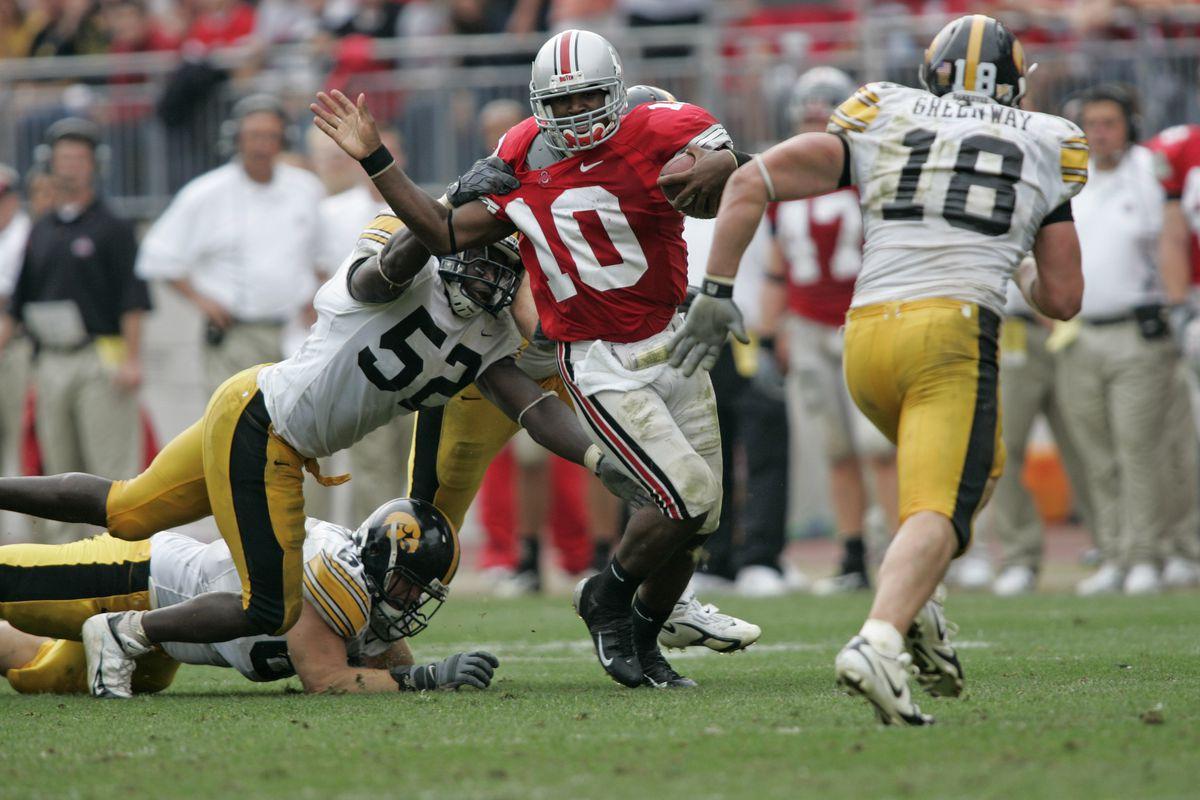 NCAA Football - Iowa vs Ohio State - September 24, 2005