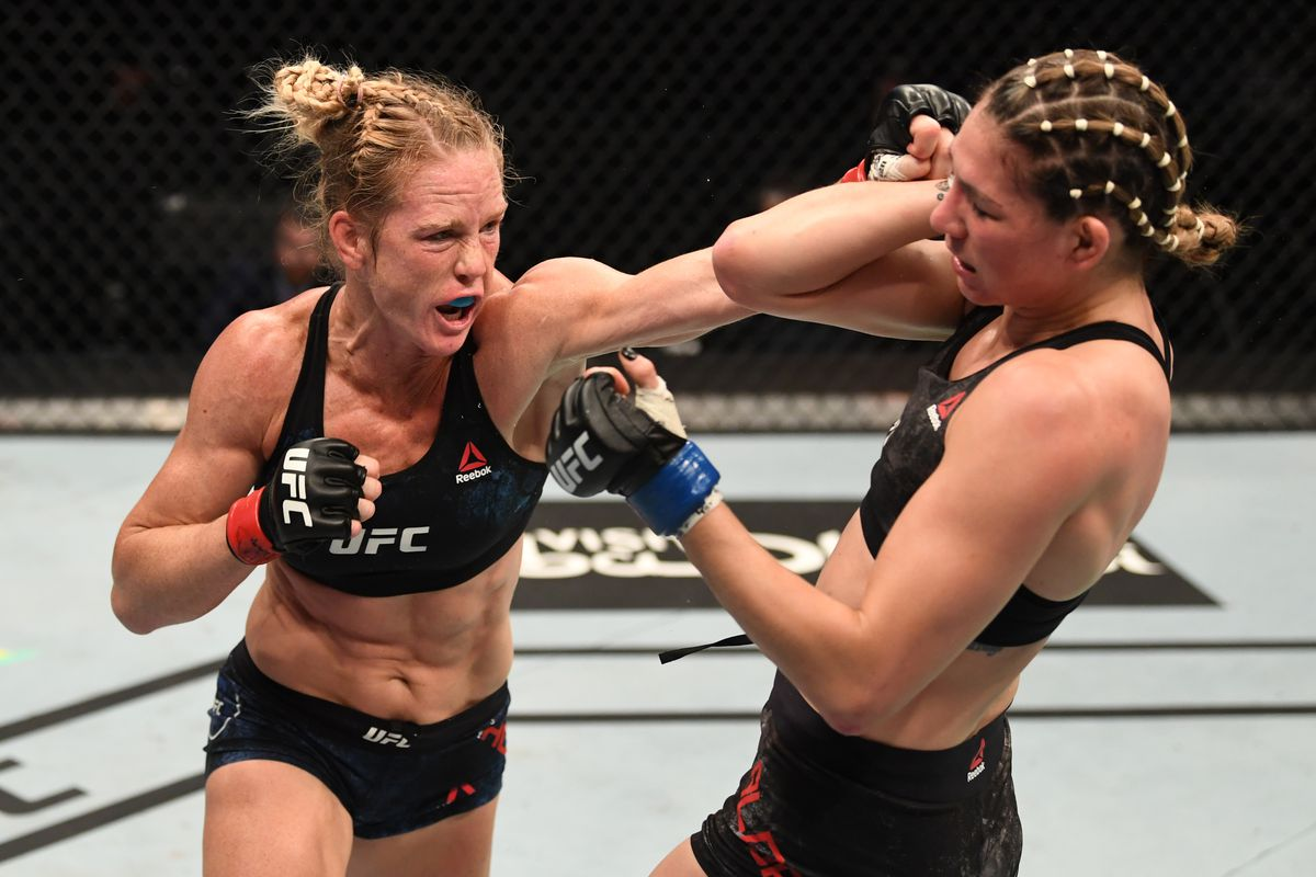 Holly Holm dominates Irene Aldana to win lopsided decision in UFC Fight  Island 4 main event - MMA Fighting