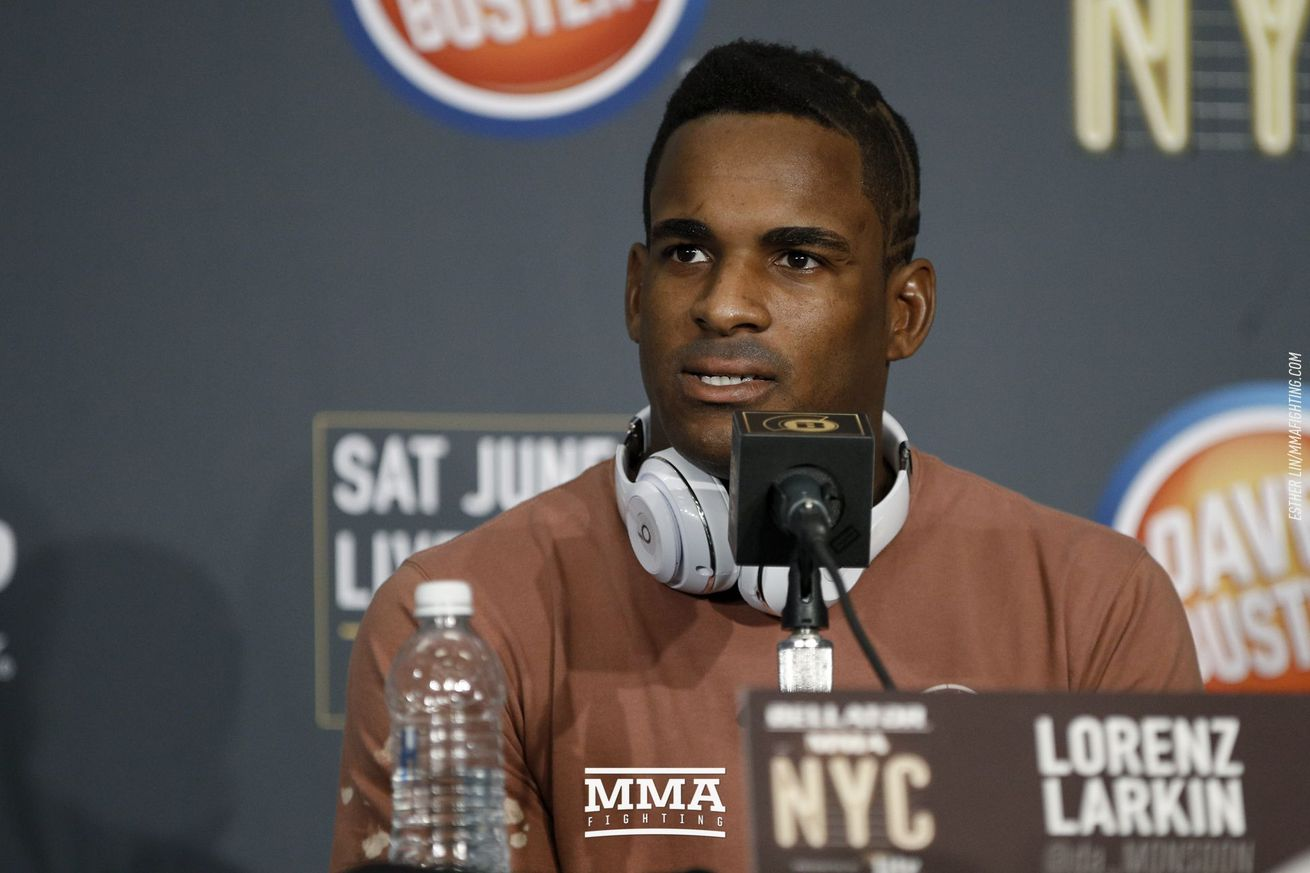 community news, Now settled into his new digs, Lorenz Larkin finds dealing with Bellator 'refreshing'