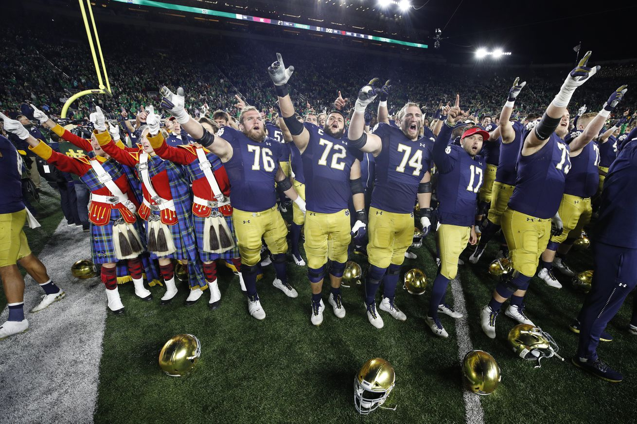 Brian Kelly May Have Taken the Onside Kickoff All The Way for a Touchdown