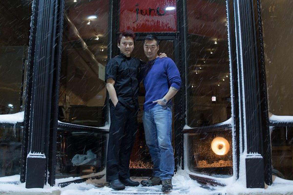 Jason Chan and B.K. Park