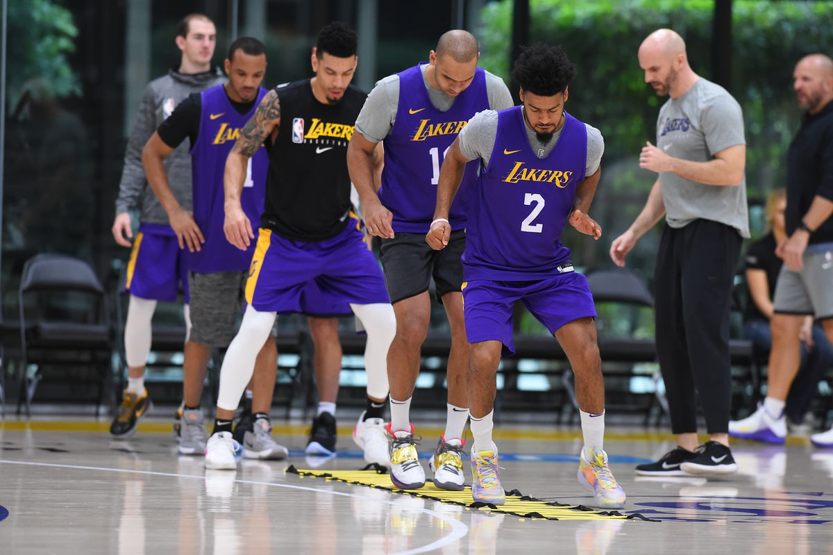 Lakers All Access Practice