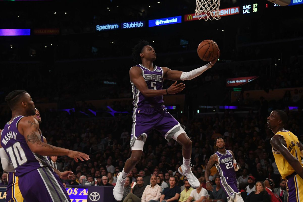 De'Aaron Fox is amazing, and other observations from Kings/Lakers