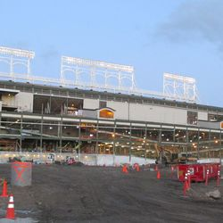 West side of the ballpark and triangle lot -