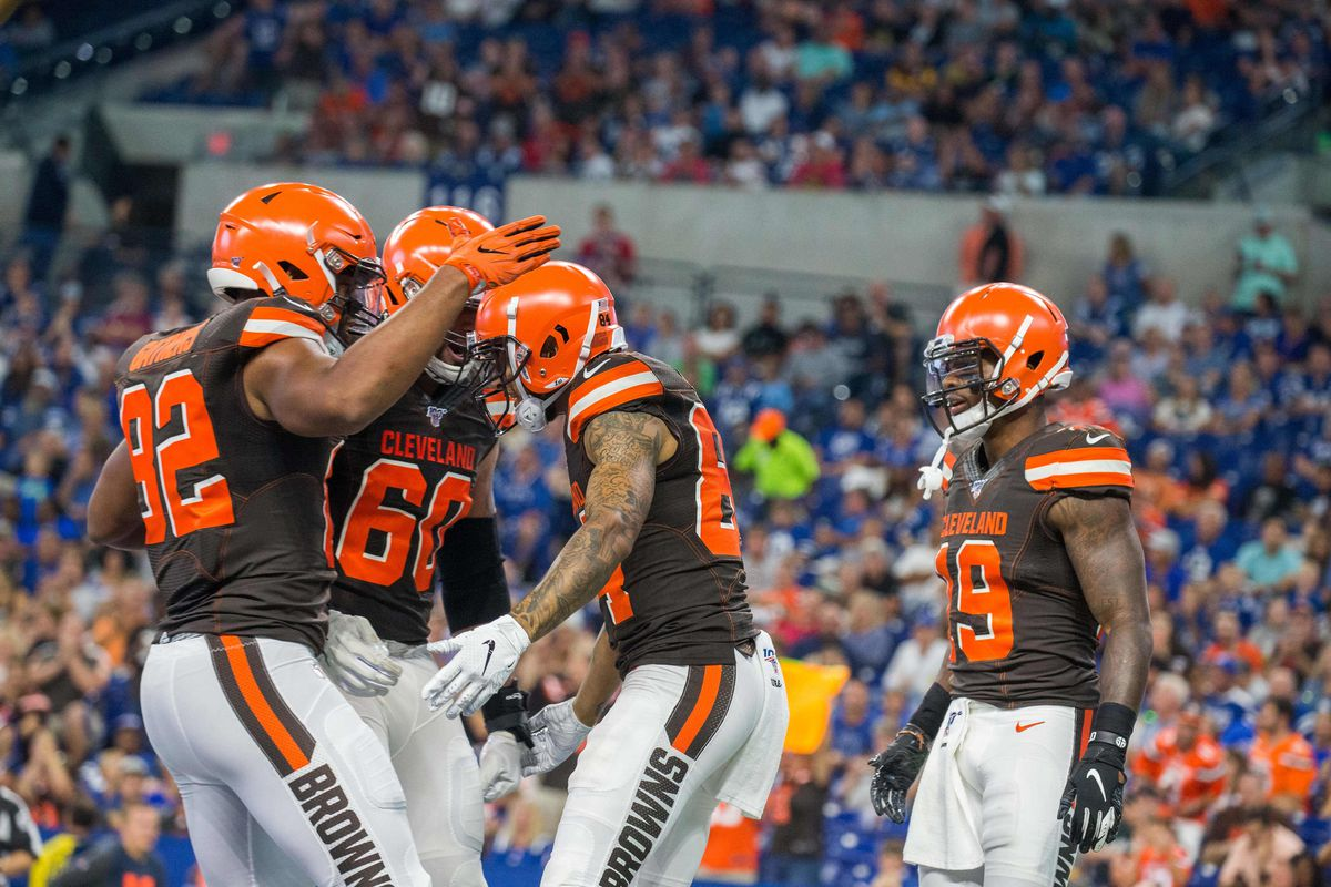NFL: Preseason-Cleveland Browns at Indianapolis Colts