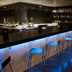 The bar at Mingo Kitchen & Bar.