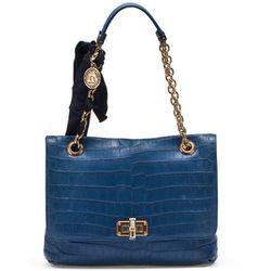 "<b>Lanvin</b> Happy Bag in navy, <a href=""http://www.lanvin.com/e-lanvin/US//women/handbags/happy-bag-in-crocodile-19125.html?color=Navy+Blue&colorid=182&siteID=J84DHJLQkR4-wU9TTvRALNn3LUwmnuqJIQ#"">$23,000</a>"