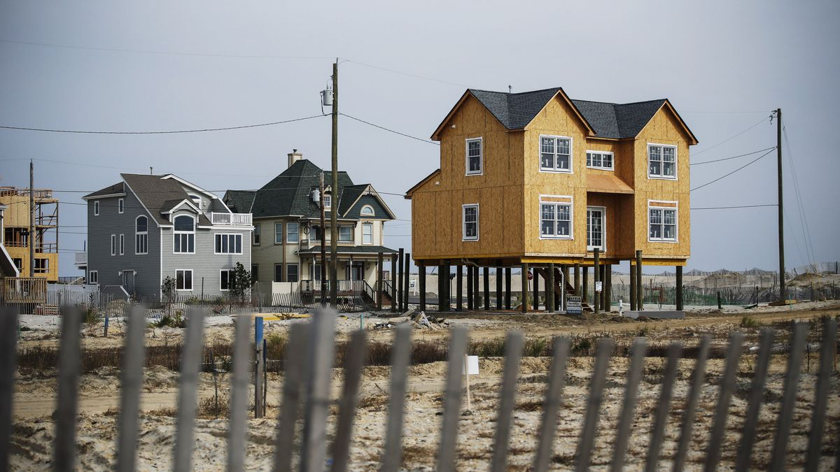 Jersey S post-Hurricane Sandy shows shortfalls in ... on flood zone insurance, flood zone signs, flood zone elevation coastal house, flood zone homes, flood plain house plans, home zone house plans, flood takes house, flood zone foundation, flood proof house designs,