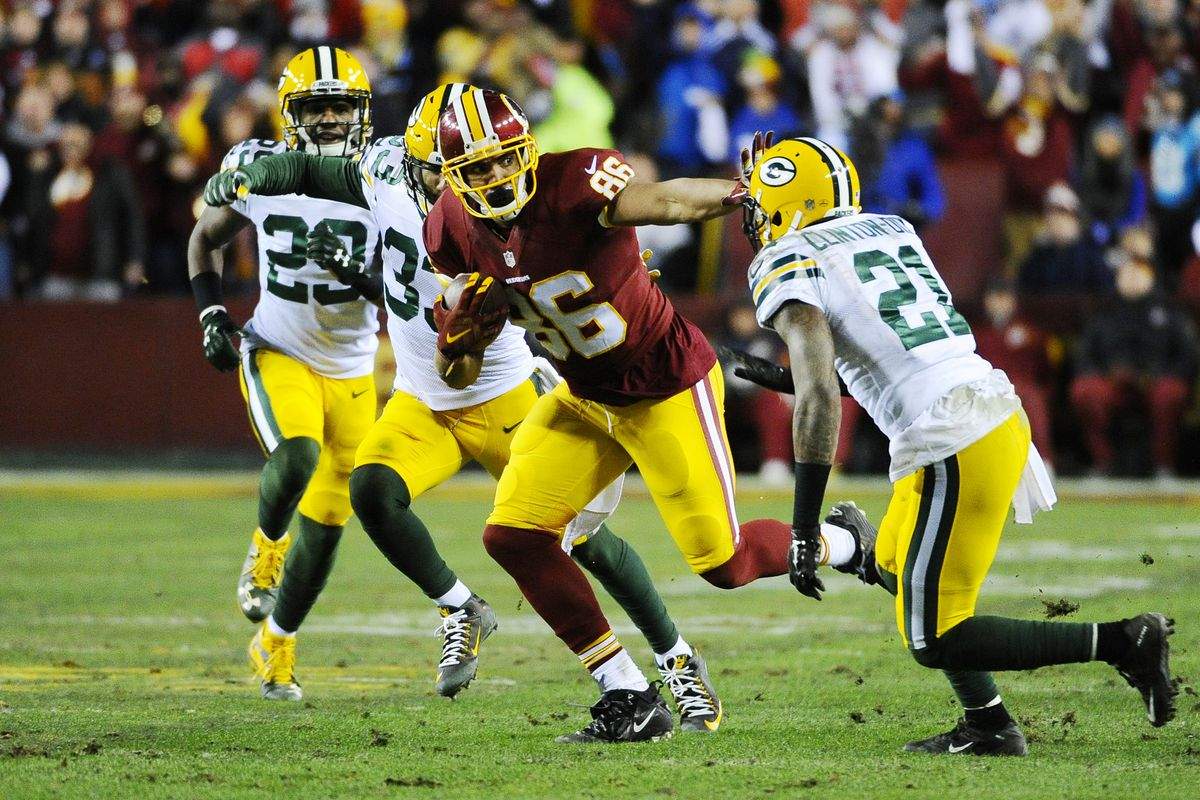 c0b63efe5e3 Steelers will face a familiar challenge in defending Redskins TE Jordan Reed