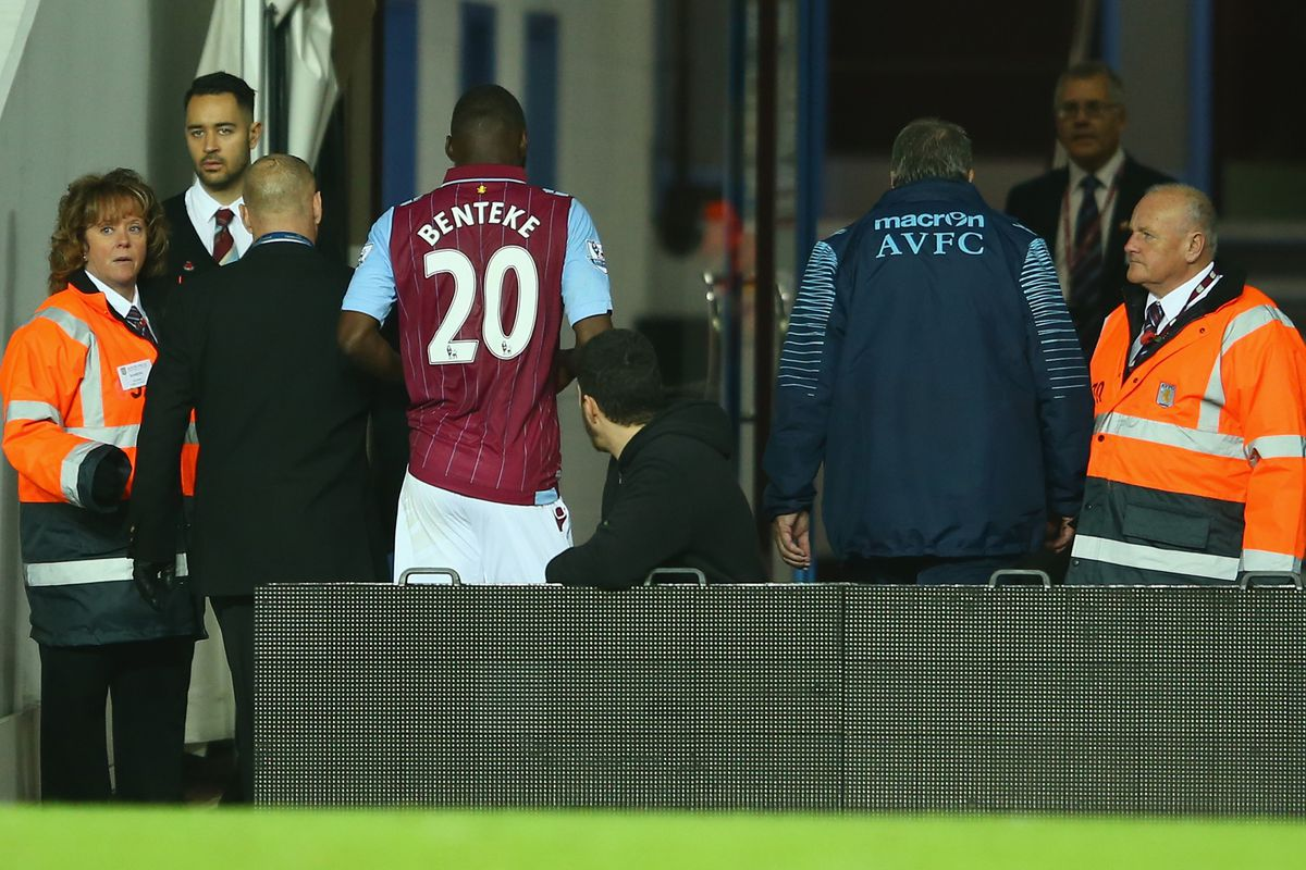 Villa will have to look elsewhere for hope of a victory with Benteke's red card leading to a 3-match ban.