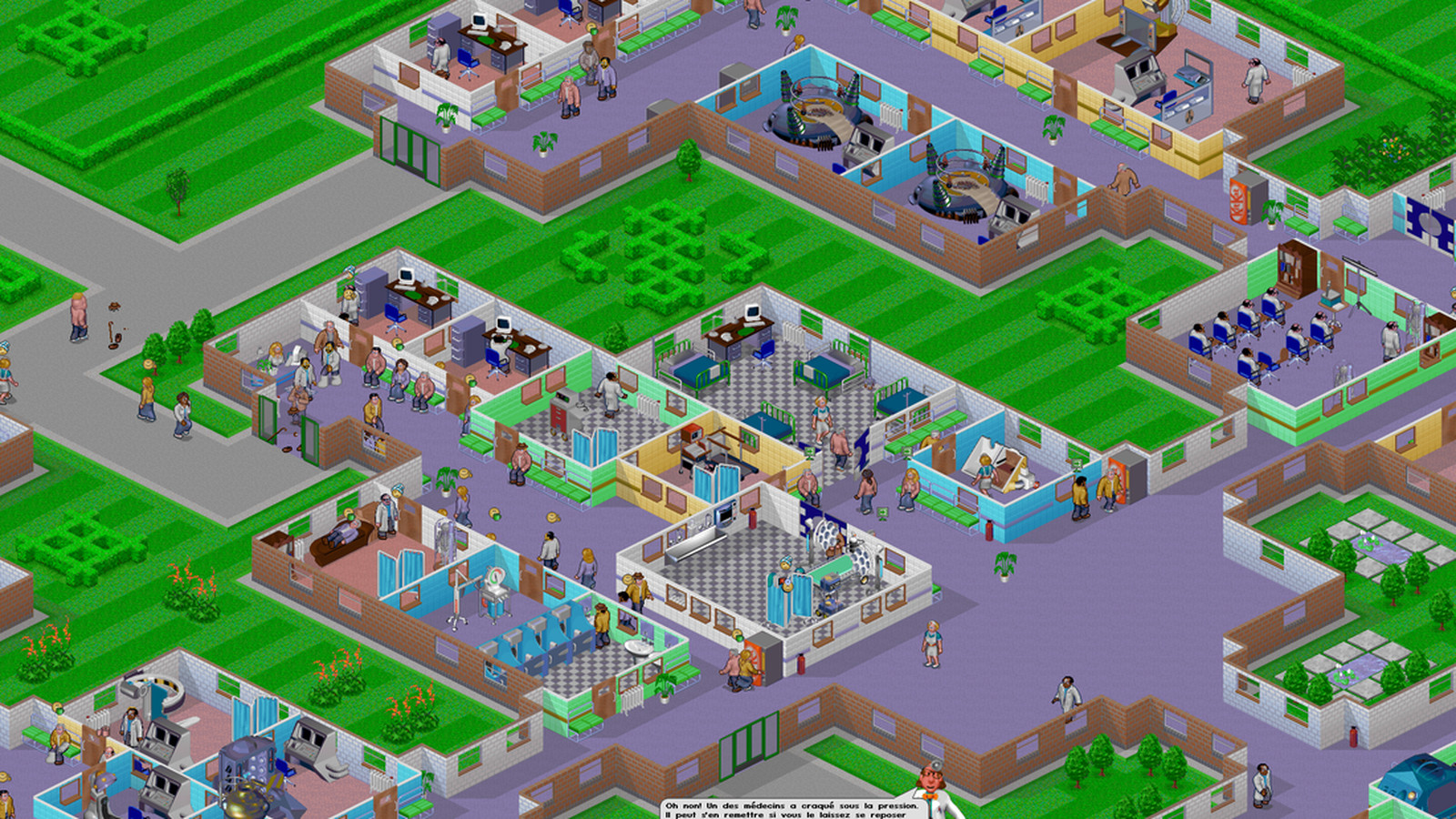 how to win theme hospital