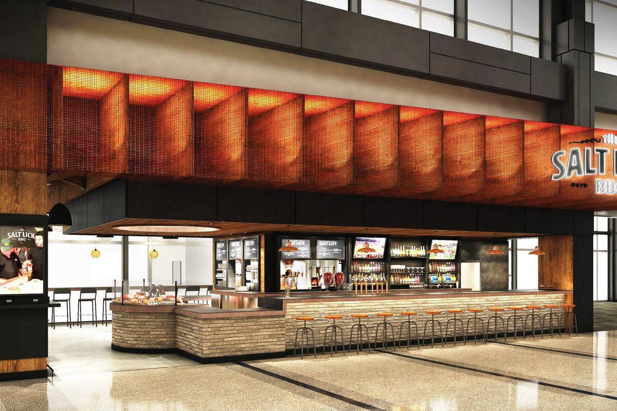 Rendering of Salt Lick's new airport location
