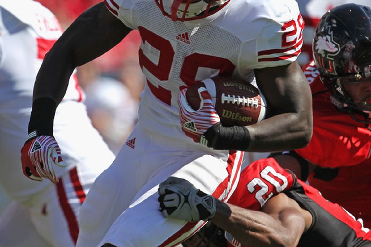 Montee Ball and the Badgers' ground game are once again off to a hot start.