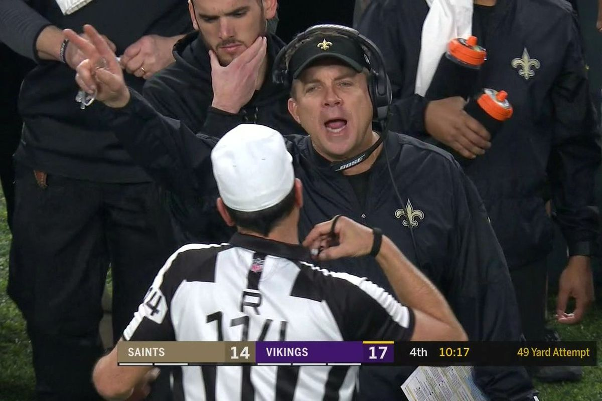 Sean Payton Admits To Taunting Vikings Fans; Explains Why He Did It