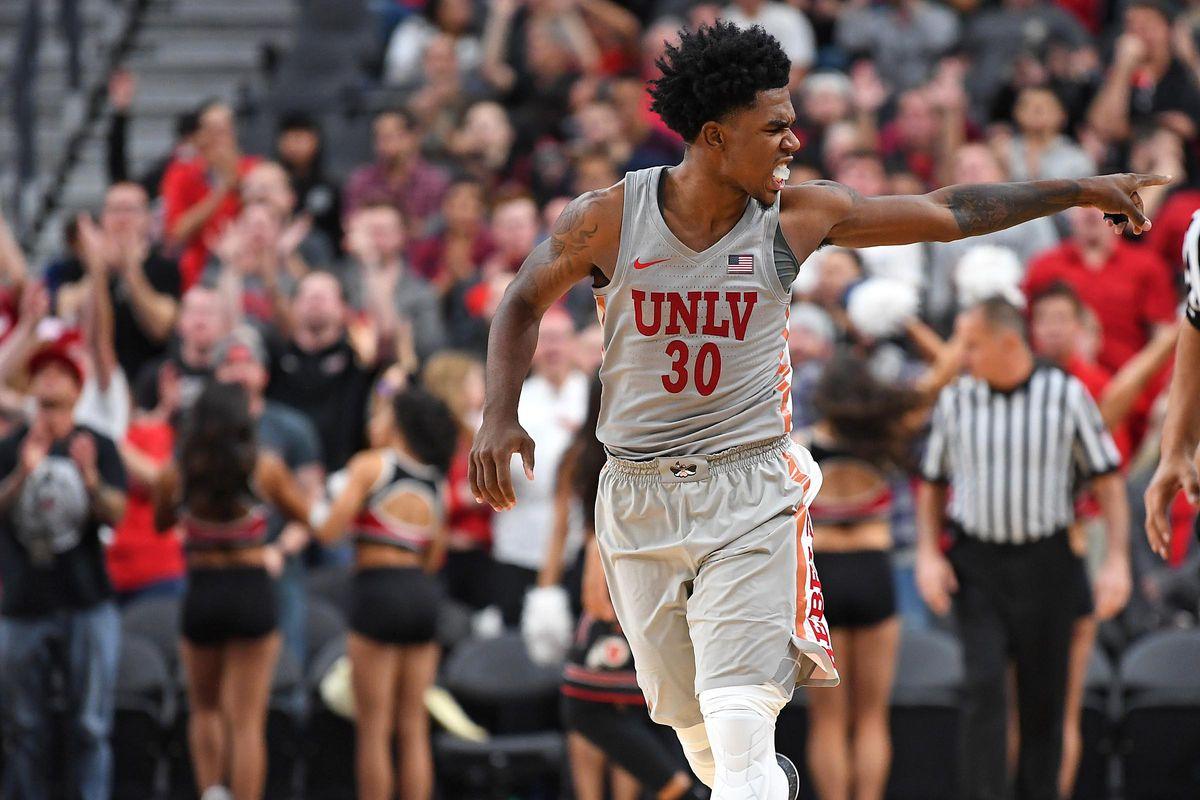 NCAA Basketball: Utah at UNLV