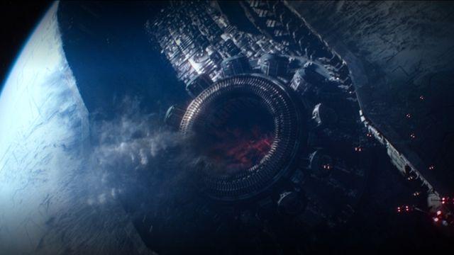 Starkiller Base from Star Wars: The Force Awakens