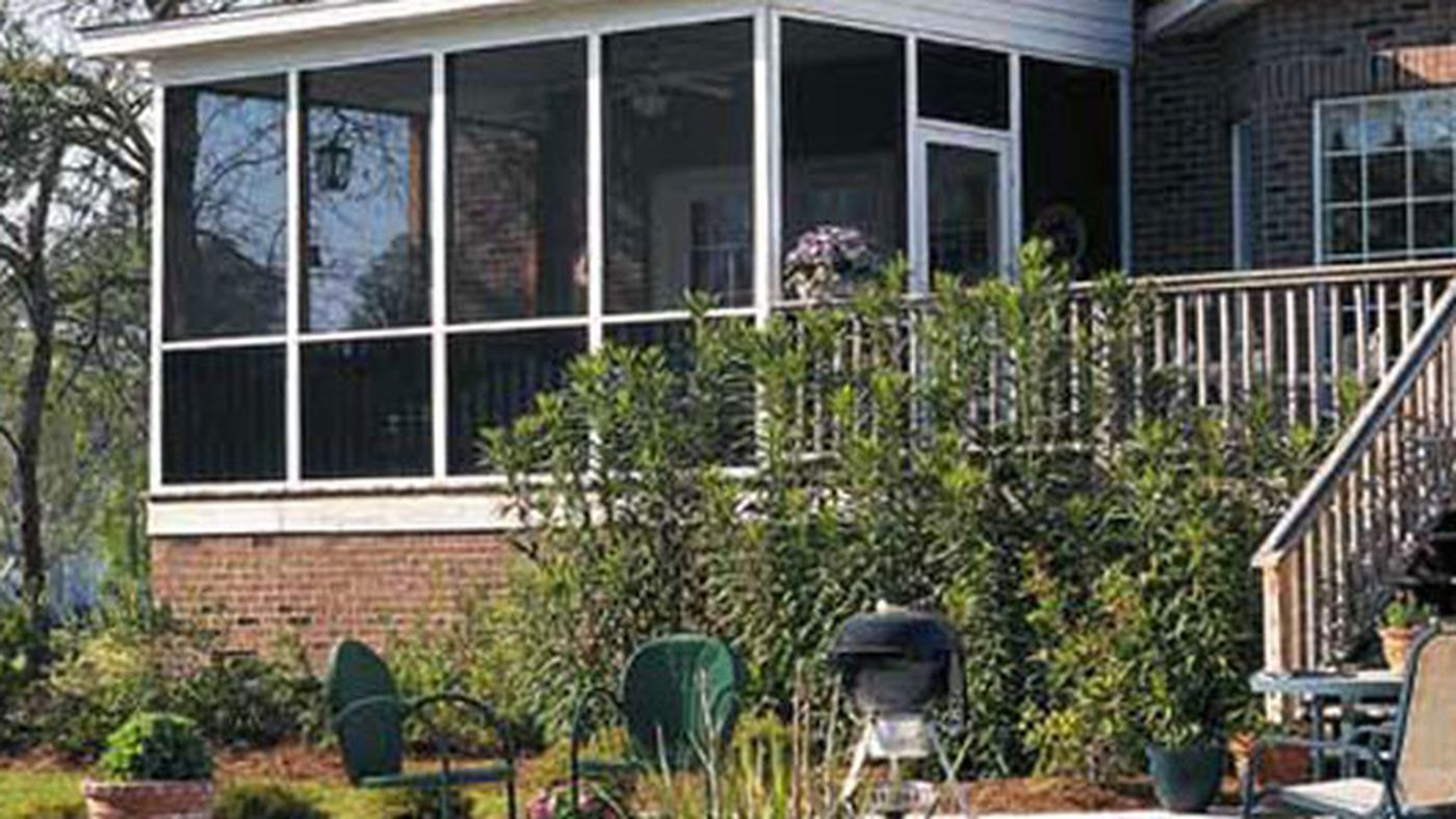 Screened In Porches A Guide To Faster Installation This Old House