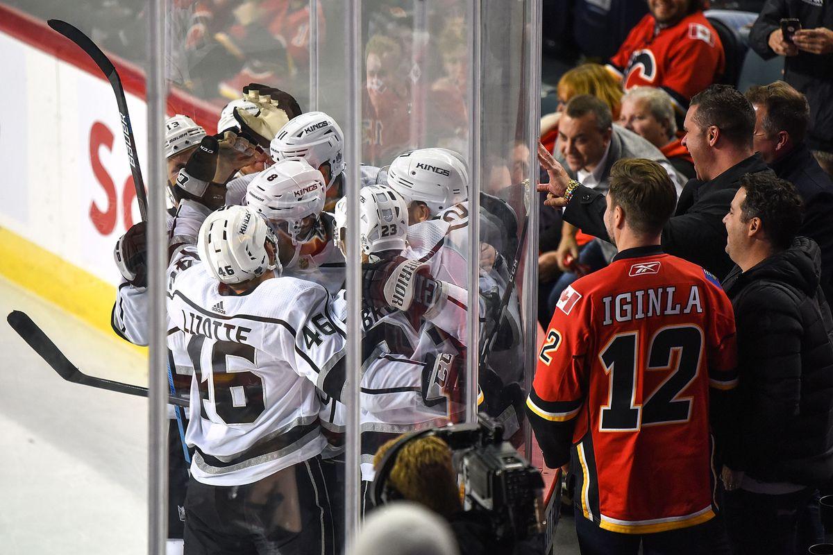 Los Angeles Kings v Calgary Flames