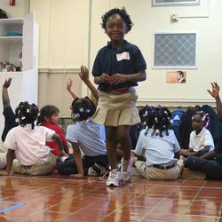 Denisecia Sessions attends a session of WINGS for Kids in North Charleston, S.C., on Aug. 27, 2010. The program that stresses emotional  learning skills for students expands into two schools in the Atlanta area on Sept. 4, 2012.