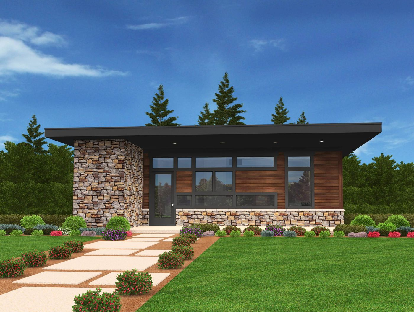 Build A New Home With A Mid Century Modern Vibe This Old House