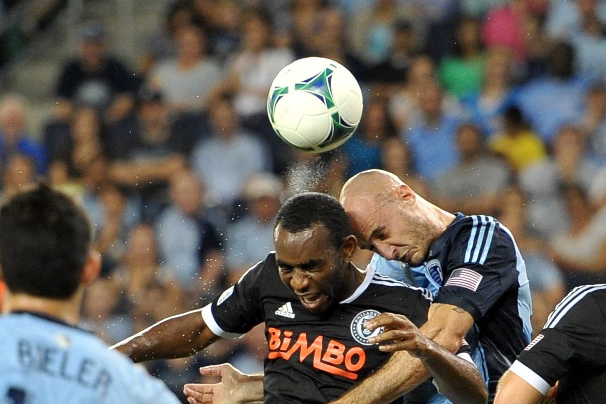While with the Union, Okugo had a meeting of the minds with future team mate Collin at Sporting Park