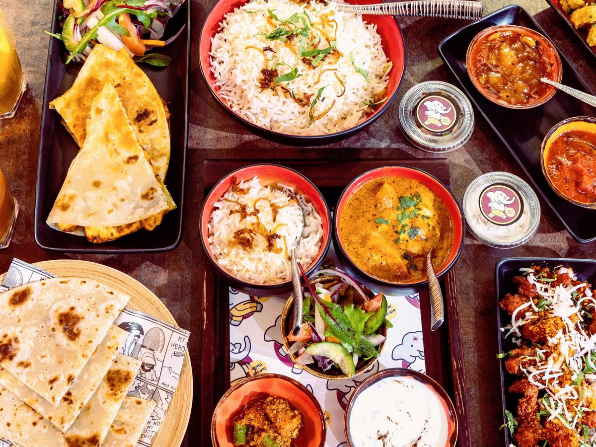 A spread of dishes at Koolcha, one of the best north Indian restaurants in London