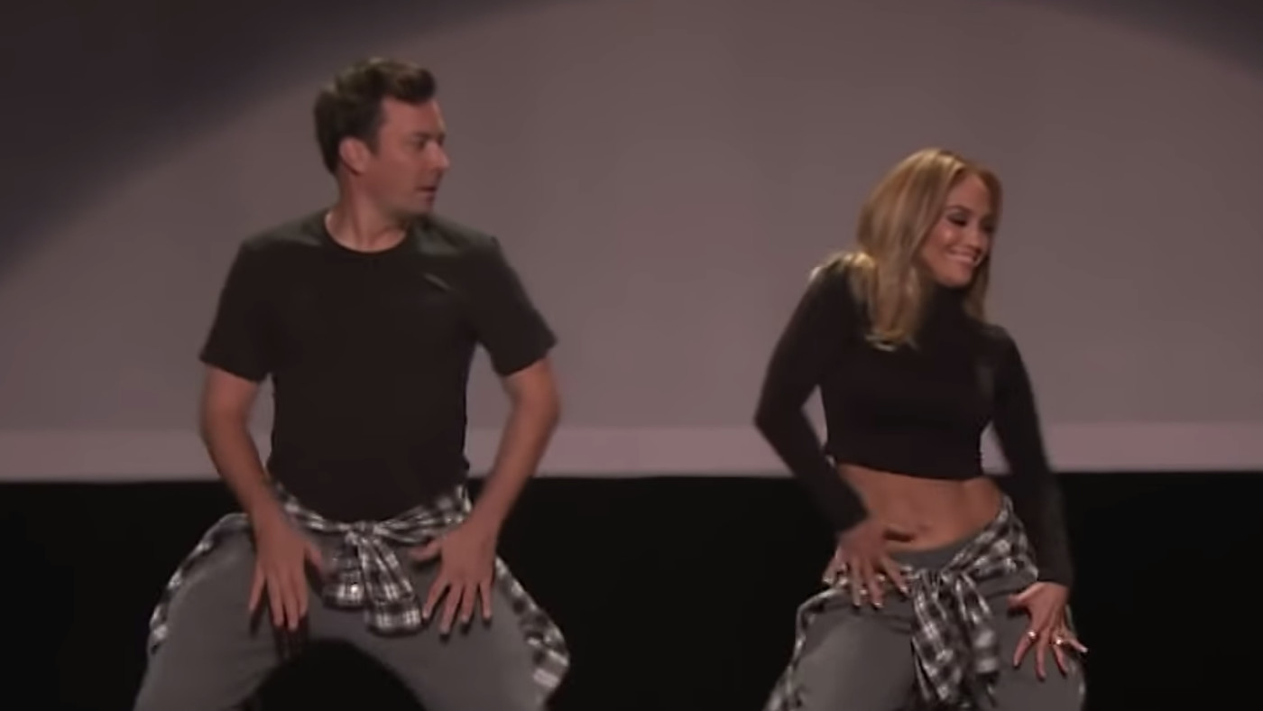 J-Lo And Jimmy Fallon Bust Some Serious Moves