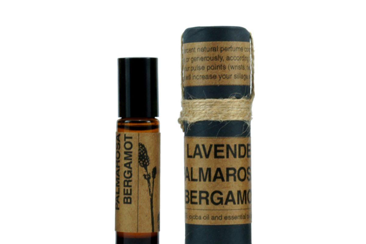 "Hidden Folk Lavender/Palmarosa/Bergamot Roll-On Perfume, $32 at Wittmore. Image via <a href=""http://www.hidden-folk.com"">Hidden Folk</a>."