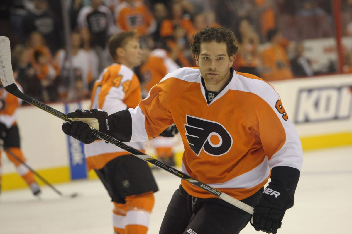 The Avalanche Flyers pics available included EXCLUSIVELY Galiardi, Yip, Anderson, JML, Jones and Quincey. So here's a picture of Steve Downie, because we miss him