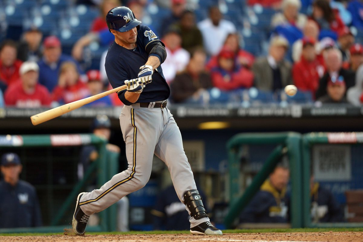 It was fastballs down the middle, not boos, that helped Braun hit 3 HRs Monday.