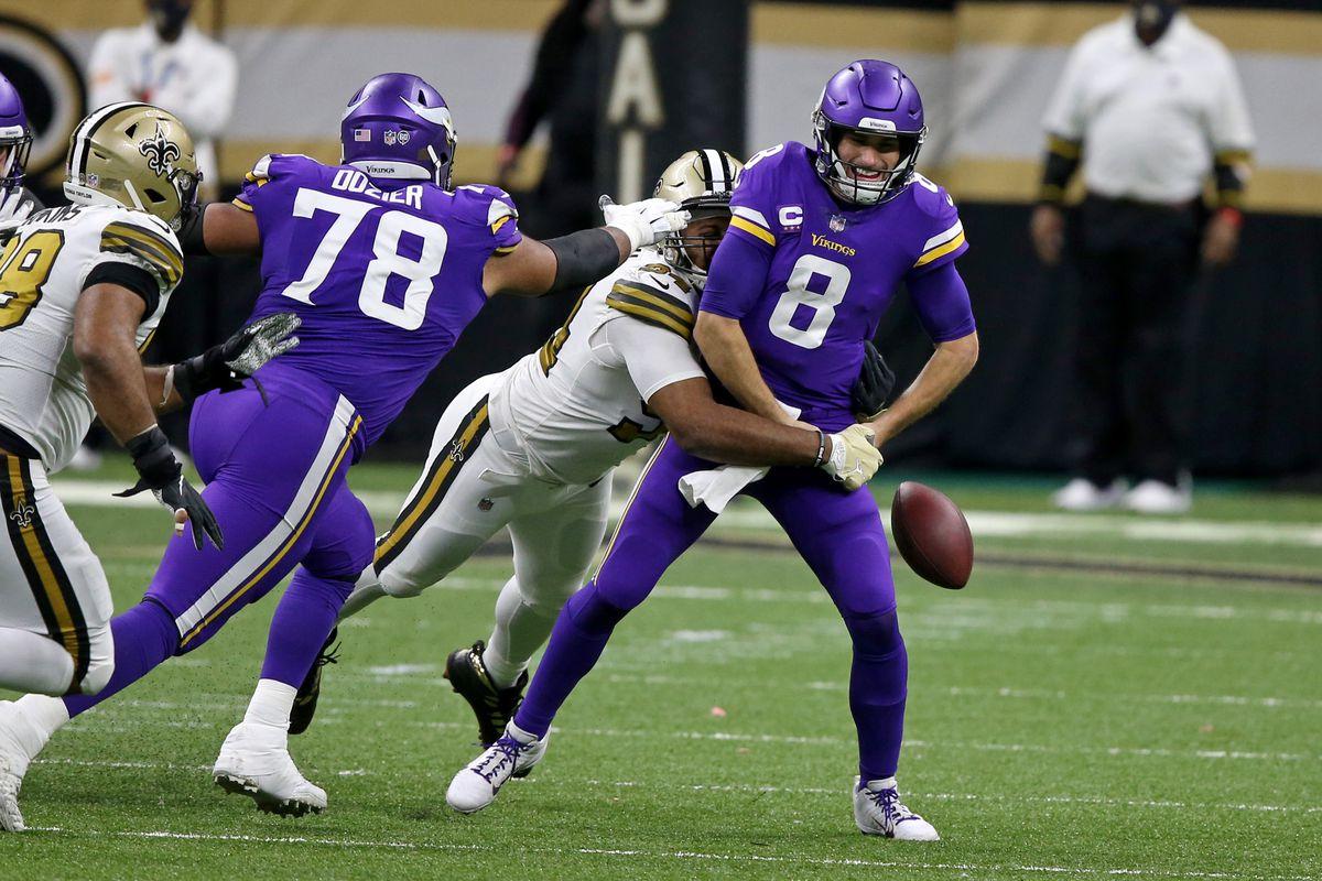 NFL: Minnesota Vikings at New Orleans Saints