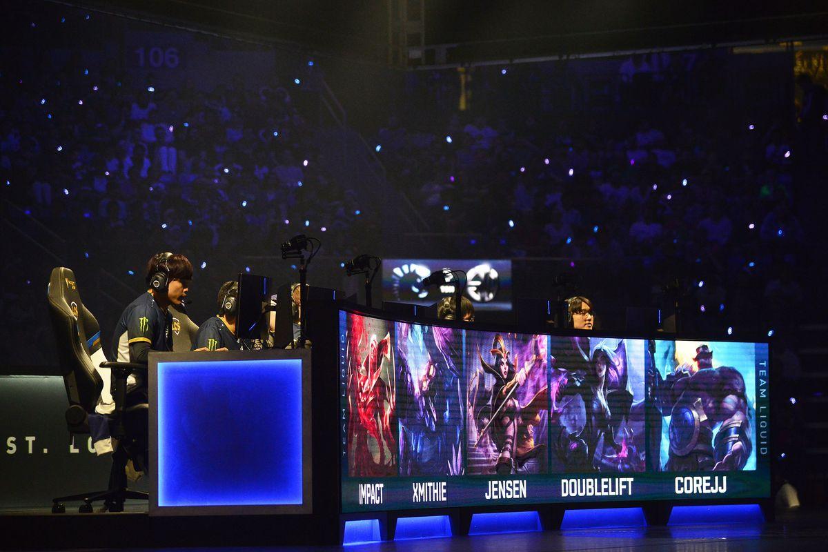 ESports: 2019 League of Legends Championship Series Spring Finals