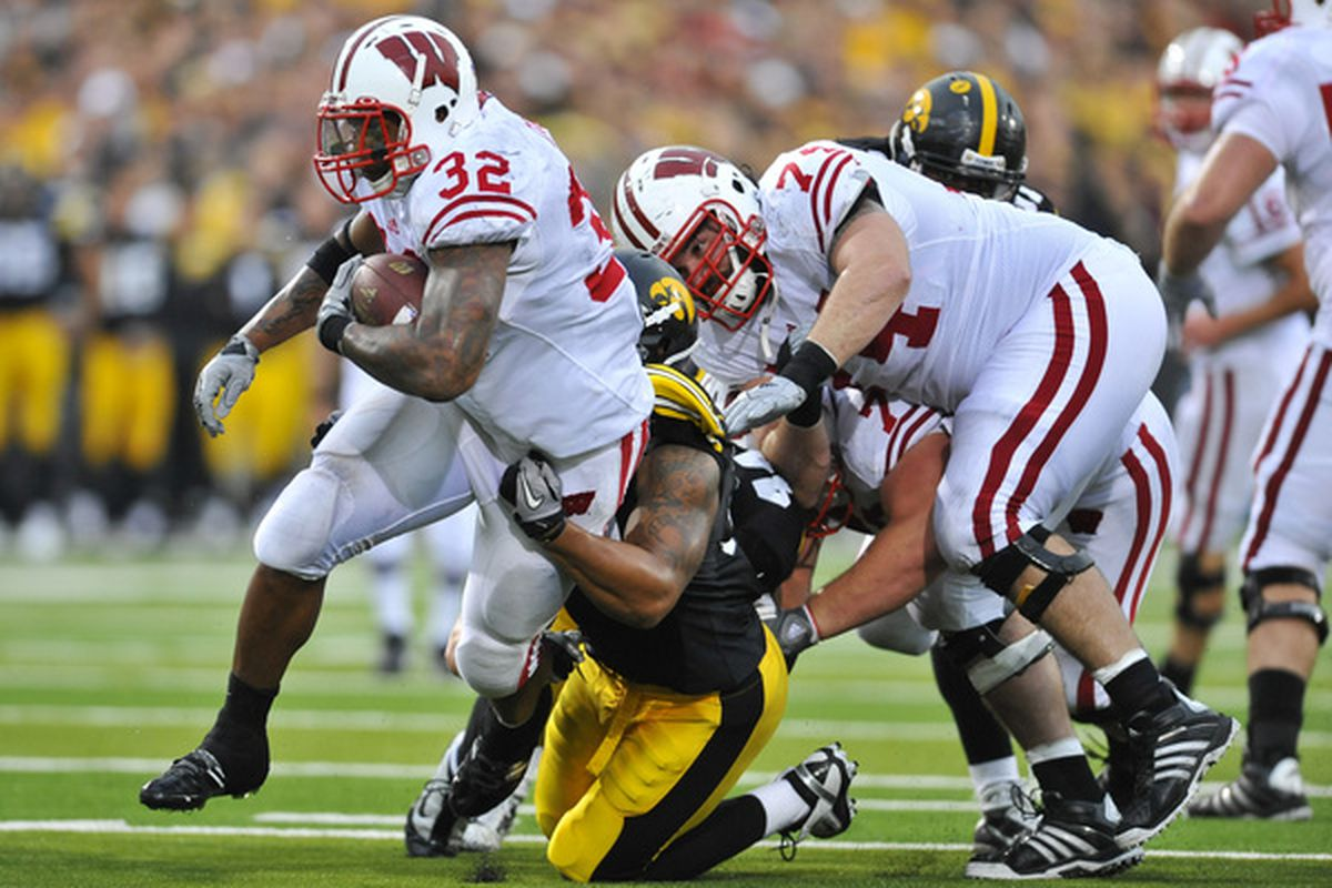 Wisconsin has had two weeks to prepare for us. Ouch.(Photo by David Purdy/Getty Images).