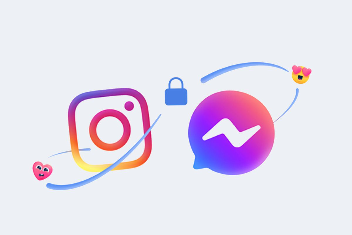 Facebook launches cross-platform messaging on Instagram and Messenger - The Verge