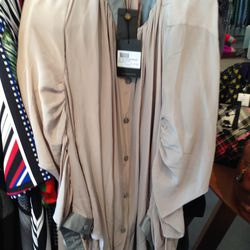 Vivenne Westwood shirtdress, $195 (from $845)