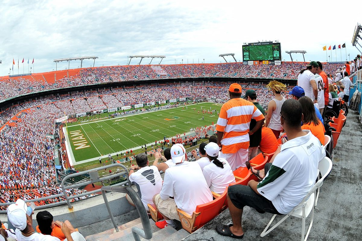 Will SunLife Stadium bet he Canes home forever?