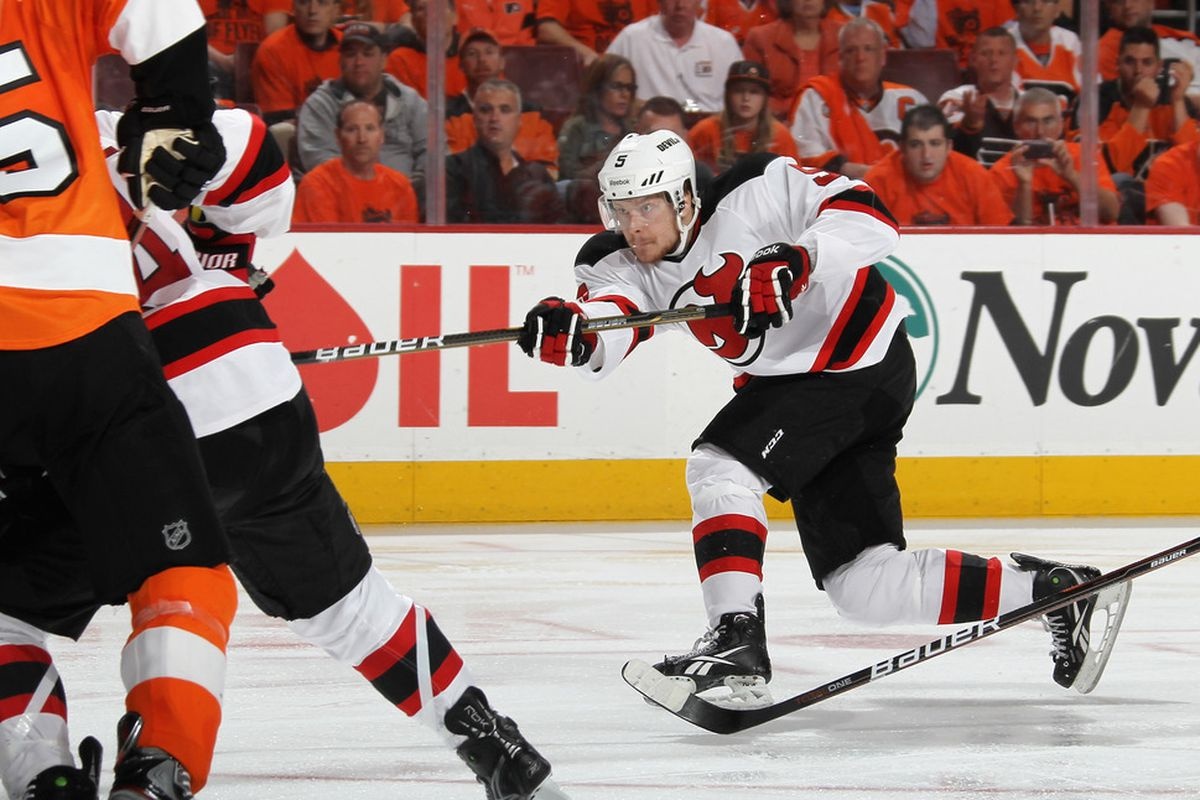 Just Adam Larsson sniping the series changing goal...nbd, sea of dejected orange shirted onlookers