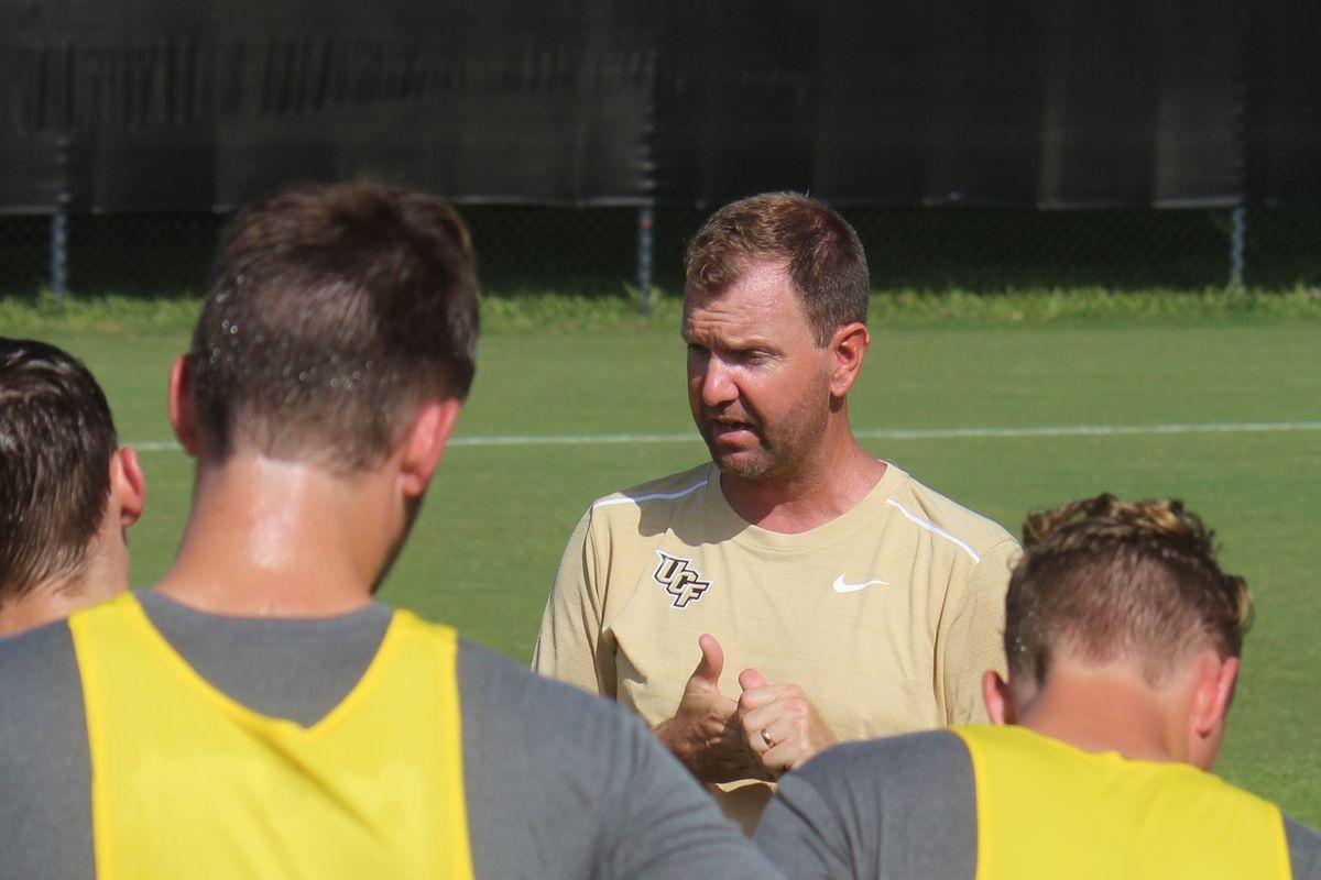 UCF Head Men's Soccer Coach Bryan Cunningham. (Photo: UCFKnights.com)