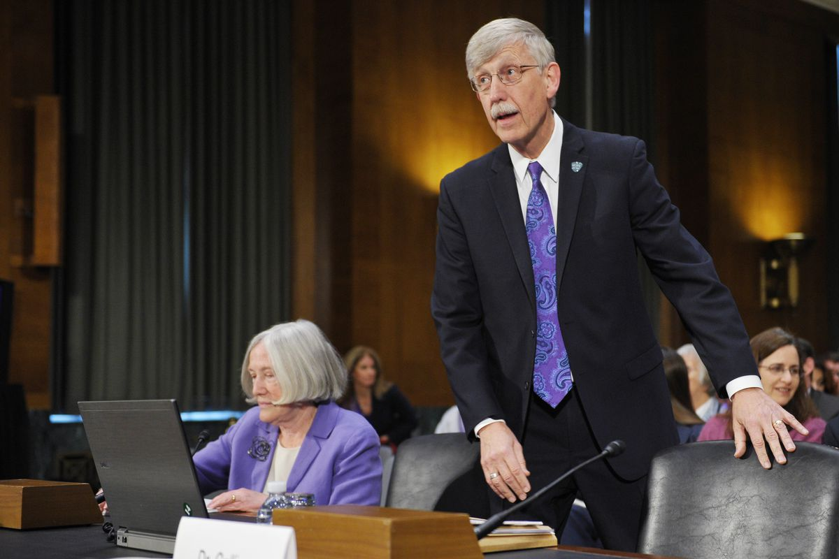 NIH Director Francis Collins pledges not to speak on all