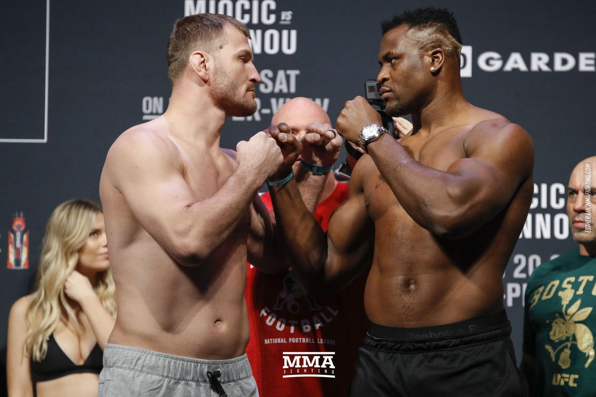 Stipe Miocic vs. Francis Ngannou 2 set for UFC 260 main event - MMA Fighting